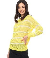 sweater amarillo exótica camila