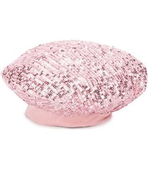 piccola ludo sequinned beret - pink