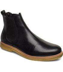 cast crepe chelsea shoes chelsea boots svart royal republiq