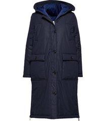 big puffer coat fodrad rock blå marc o'polo