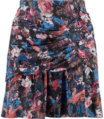 iro nuada printed skirt