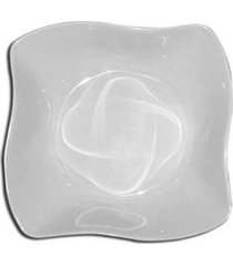tigela borda ondulada em melamina 12,2 x 7 cm premium