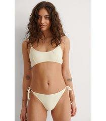 na-kd swimwear bikinitrosa med knytband - offwhite