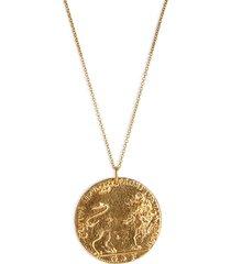 women's alighieri il leone medallion necklace