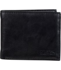 kenneth cole reaction men's rfid wallet with zipper pocket