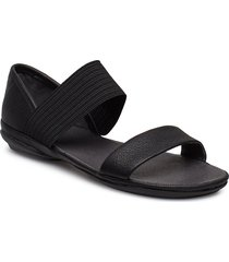 right nina shoes summer shoes flat sandals svart camper