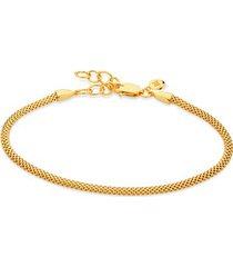 gold doina fine chain bracelet