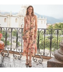 awash in florals dress petite