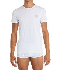 men's versace medusa head logo 2-pack undershirts, size 5 - white