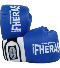luva boxe muay thai fheras new orion pró azul