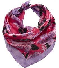 pañuelo lila bohemia estampado