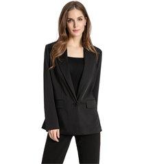 blazer clásico negro nicopoly