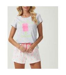 pijama espaço pijama 40656 feminino