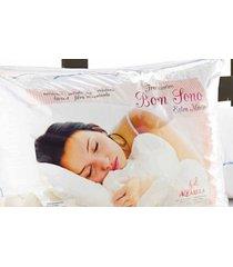 travesseiro bom sono dourados enxovais branca - branco - feminino - dafiti