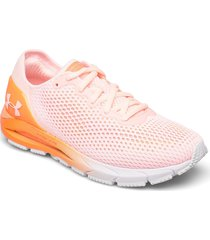 ua w hovr sonic 4 shoes sport shoes running shoes rosa under armour