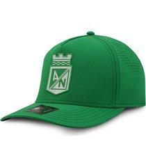 gorra atlético nacional oficial oc caps verde cerrada