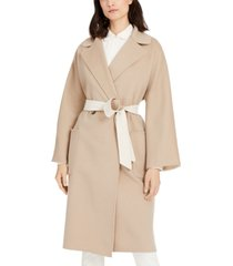 weekend max mara mid-length belted trench coat