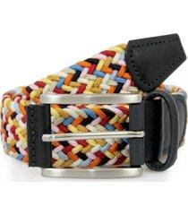 anderson's belts woven fabric belt | multi | b0667 af3689