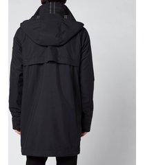 canada goose men's crew trench lightweight jacket - black - xl