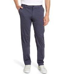 men's rhone commuter straight fit pants, size 40 - grey