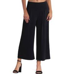 women's cropped wide leg pants