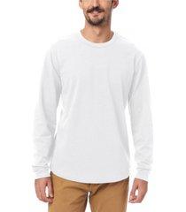 alternative apparel men's hemp-blend long sleeve t-shirt