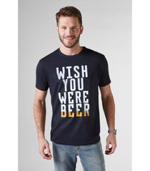 t-shirt reserva wish you beer masculina