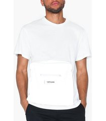 sixth june t-shirt with reflective pocket t-shirts & linnen white