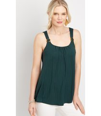 maurices womens tortoise ring tank green