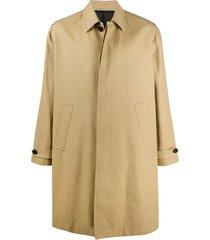 filippa k loose fit car coat - neutrals
