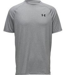 ua tech 2.0 ss tee t-shirts short-sleeved grå under armour