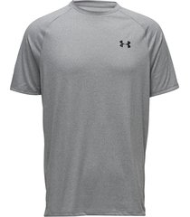 ua tech 2.0 ss tee t-shirts short-sleeved grå under armour