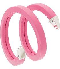 bottega veneta wraparound bracelet - pink