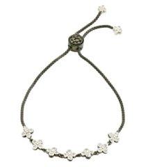 women's freida rothman signature clover adjustable bracelet