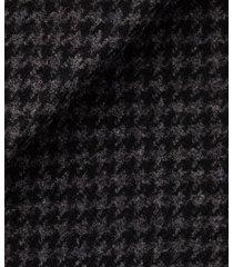 cappotto da uomo su misura, tessitura di quaregna, grigio pied de poule, quattro stagioni | lanieri