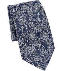 collection paisley & floral silk tie