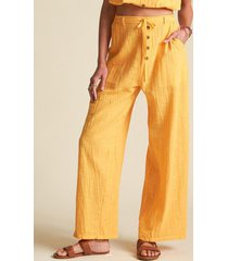 pantalon bring on amarillo billabong