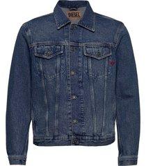 d-sal jacket jeansjacka denimjacka blå diesel men