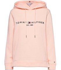 th ess hilfiger hoodie ls hoodie trui roze tommy hilfiger