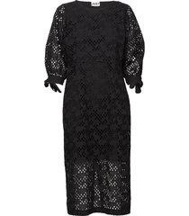 avador dress knälång klänning svart just female