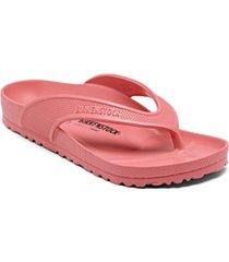 birkenstock women's honolulu eva flip-flop thong sandals from finish line
