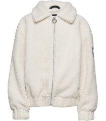 k. stylish woody jacket sweat-shirt trui crème svea