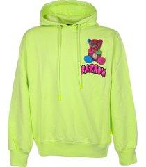 barrow barow printed hoodie