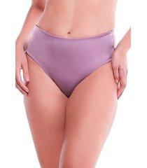 calcinha cintura alta frente dupla lisa feminize