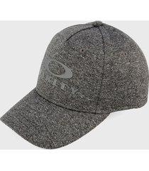 gorra gris-blanco oakley edge 4.0