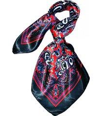 pañuelo bandana calabazas rojo y negro viva felicia