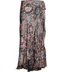 extravaganca wrap skirt lång kjol multi/mönstrad odd molly