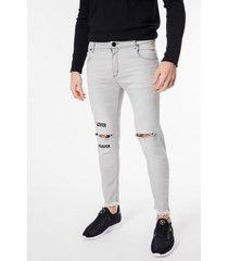 jean gris tascani tina skinny