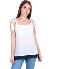 blusa en chalis blanco s bocared savanna 2701870