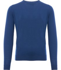john smedley lundy sweater - cobalt lundy-mgc